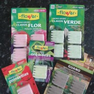 Clavos Abono Específicos para Planta de Interior.