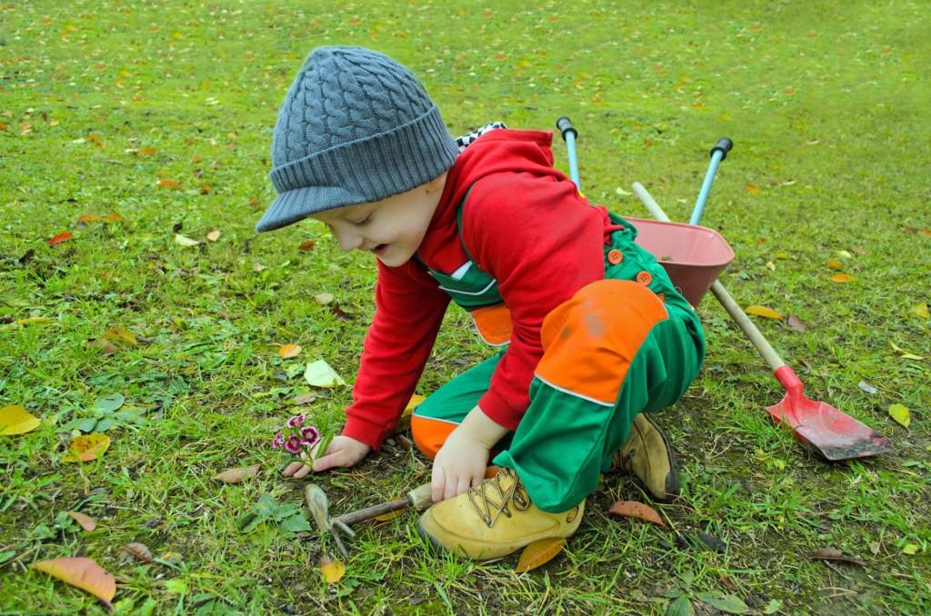 A los Niños también les gusta la Jardinería